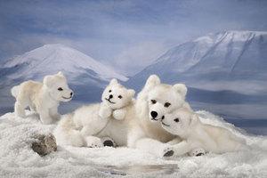 Kosen Polarwolf welpe - 22 cm