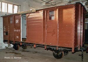train miniature Wagon couvert HOe DR (Roco 34553) Roco Quirao idées cadeaux