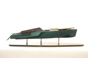maquette de bateau, voilier, runabout Wallypower 118 Superyacht - 94cm Premier Ship Models Quirao idées cadeaux