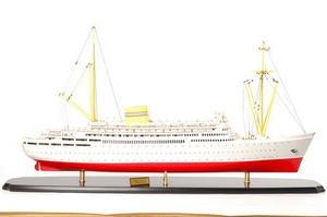 maquette de bateau, voilier, runabout Bergensfjord - 105cm Premier Ship Models Quirao idées cadeaux