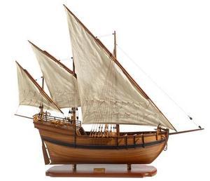 maquette de bateau, voilier, runabout Caravelle - 75 cm Premier Ship Models Quirao idées cadeaux