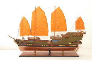 maquette de bateau, voilier, runabout Chinese Junk - 109 cm Premier Ship Models Quirao idées cadeaux