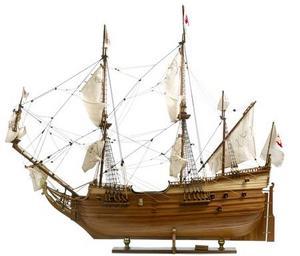 maquette de bateau, voilier, runabout Derflinger - 82 cm Premier Ship Models Quirao idées cadeaux