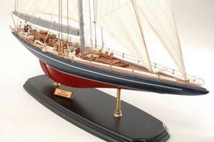 maquette de bateau, voilier, runabout Endeavour yacht 2 - 76cm Premier Ship Models Quirao idées cadeaux