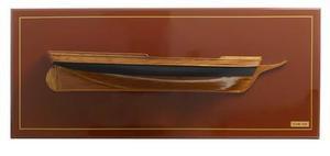 maquette de bateau, voilier, runabout Flying Fish (USS) demi-maquette - 120cm Premier Ship Models Quirao idées cadeaux
