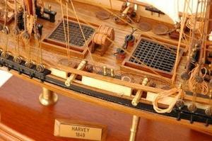maquette de bateau, voilier, runabout Harvey - 93 cm Premier Ship Models Quirao idées cadeaux