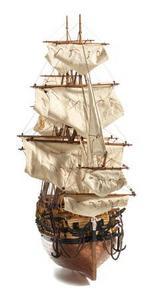 maquette de bateau, voilier, runabout HMS Northumberland - 80 cm Premier Ship Models Quirao idées cadeaux