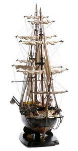 maquette de bateau, voilier, runabout HMS Surprise (platinum) - 100 cm Premier Ship Models Quirao idées cadeaux