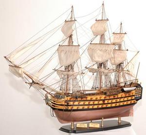 maquette de bateau, voilier, runabout HMS Victory Bicentenaire - 75 cm Premier Ship Models Quirao idées cadeaux