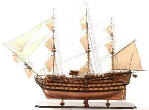 maquette de bateau, voilier, runabout HMS Victory Bicentenaire - 105 cm Premier Ship Models Quirao idées cadeaux