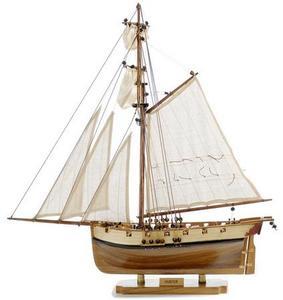 maquette de bateau, voilier, runabout Hunter - 46 cm Premier Ship Models Quirao idées cadeaux