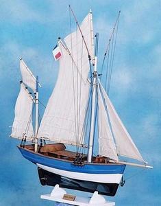 maquette de bateau, voilier, runabout Marie Jeanne - 55cm Premier Ship Models Quirao idées cadeaux