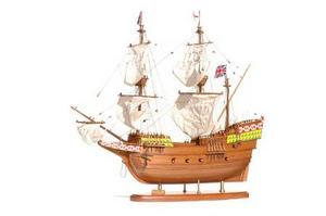 maquette de bateau, voilier, runabout Mayflower - 80 cm Premier Ship Models Quirao idées cadeaux