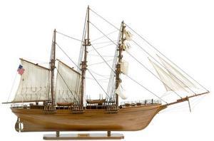 maquette de bateau, voilier, runabout Mercator - 66 cm Premier Ship Models Quirao idées cadeaux