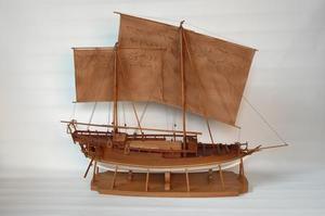 maquette de bateau, voilier, runabout Perahu - 105 cm Premier Ship Models Quirao idées cadeaux
