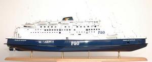 maquette de bateau, voilier, runabout P & O model ship - 126cm Premier Ship Models Quirao idées cadeaux