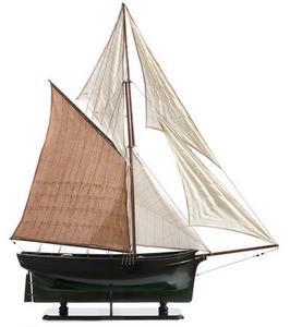 maquette de bateau, voilier, runabout Modèle restauré  - 120 cm Premier Ship Models Quirao idées cadeaux