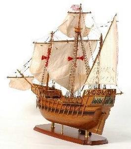 maquette de bateau, voilier, runabout Santa Maria - 61 cm Premier Ship Models Quirao idées cadeaux