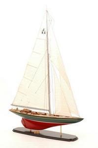 maquette de bateau, voilier, runabout Shamrock V - 75cm Premier Ship Models Quirao idées cadeaux