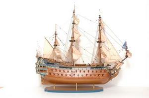 maquette de bateau, voilier, runabout Soleil Royal - 86 cm Premier Ship Models Quirao idées cadeaux