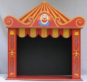 th atre marionnette 45 cm. Black Bedroom Furniture Sets. Home Design Ideas