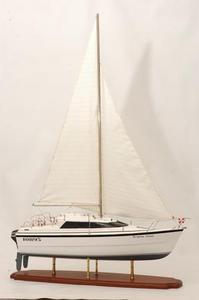 maquette de bateau, voilier, runabout Triple Wai yacht - 66cm Premier Ship Models Quirao idées cadeaux