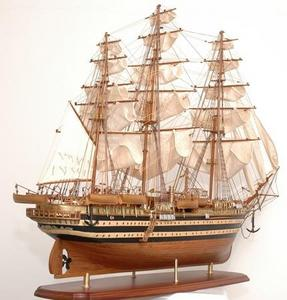 maquette de bateau, voilier, runabout Amerigo Vespucci - 130 cm Premier Ship Models Quirao idées cadeaux