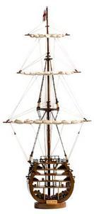 maquette de bateau, voilier, runabout HMS Victory Coupe - 14 cm Premier Ship Models Quirao idées cadeaux