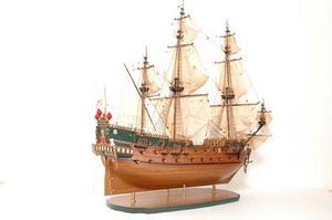 maquette de bateau, voilier, runabout Wappen von Hamburg - 114 cm Premier Ship Models Quirao idées cadeaux