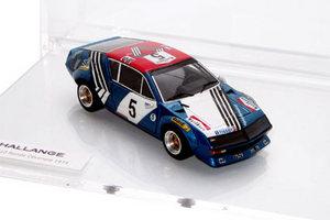 miniature de voiture Alpine A310 Ronde Cévenole 1974 Challange Quirao idées cadeaux