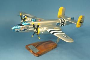 maquette d'avion North American B.25J Mitchell - USSAF - 45 cm Pilot's Station Quirao idées cadeaux