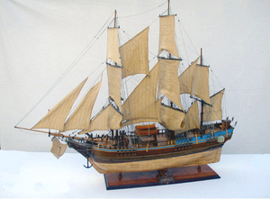 maquette de bateau, voilier, runabout HMS Bounty - (coque 80 cm) Old Modern Handicrafts Quirao idées cadeaux