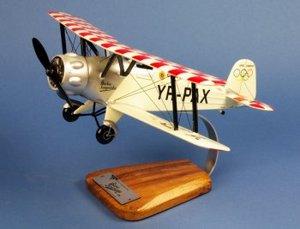 maquette d'avion Bücker Bü.133 Jungmeister - Civil  - 35 cm Pilot's Station Quirao idées cadeaux