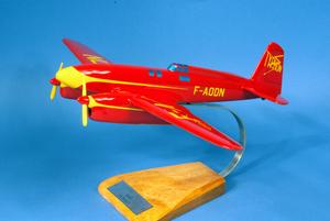 maquette d'avion Caudron C.640 Typhon  Racer - 33 cm Pilot's Station Quirao idées cadeaux