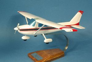 maquette d'avion Cessna 150/152 Aerobat- 47 cm Pilot's Station Quirao idées cadeaux