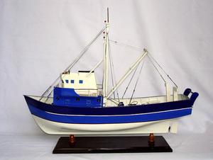 maquette de bateau, voilier, runabout La Confiance - 60 cm Old Modern Handicrafts Quirao idées cadeaux