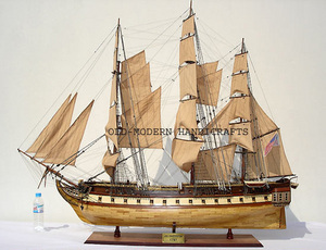 maquette de bateau, voilier, runabout USS Constitution - 135 cm Old Modern Handicrafts Quirao idées cadeaux