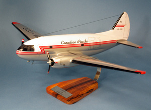 maquette d'avion Curtiss C-46 Commando Canadian Pacific - 59 cm Pilot's Station Quirao idées cadeaux