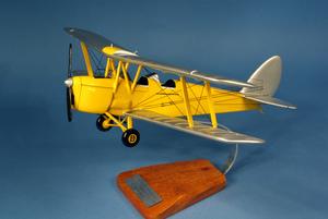 maquette d'avion De Havilland Tiger Moth DH.82 - RAF - 44 cm Pilot's Station Quirao idées cadeaux