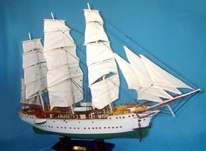 maquette de bateau, voilier, runabout Denmark - 82 cm Old Modern Handicrafts Quirao idées cadeaux