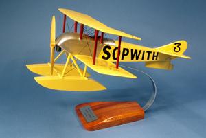 maquette d'avion Sopwith Tabloïd Pilot's Station Quirao idées cadeaux