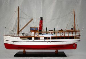 maquette de bateau, voilier, runabout Earnslaw - 60 cm Old Modern Handicrafts Quirao idées cadeaux