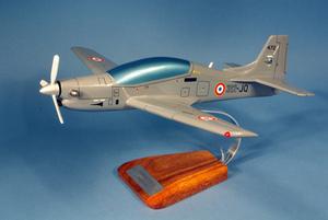 maquette d'avion Embraer 312 Tucano - 45 cm Pilot's Station Quirao idées cadeaux