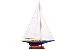 maquette de bateau, voilier, runabout Endeavour - 50 cm Kiade Quirao idées cadeaux