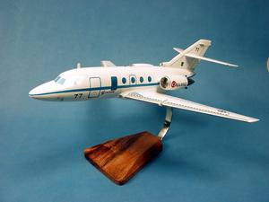 maquette d'avion Falcon 20 gardian - 43 cm Pilot's Station Quirao idées cadeaux