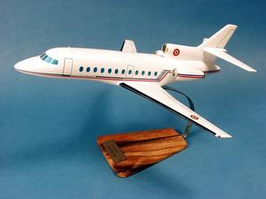 maquette d'avion Falcon 900 - F.A.F - 43 cm Pilot's Station Quirao idées cadeaux