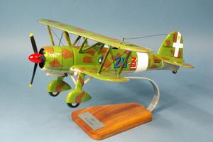 maquette d'avion Fiat CR.42 Falco  - 40 cm Pilot's Station Quirao idées cadeaux