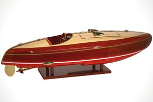 maquette de bateau, voilier, runabout Flyer - 50 cm Kiade Quirao idées cadeaux