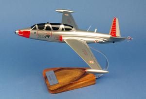 maquette d'avion Fouga Magister CM170   Salon  - 34 cm Pilot's Station Quirao idées cadeaux