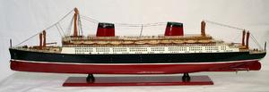 maquette de bateau, voilier, runabout France peint - 80 cm Old Modern Handicrafts Quirao idées cadeaux